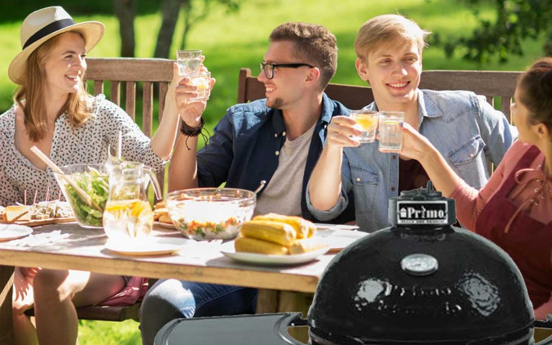 Kamado Style Charcoal Grill – Primo Grill
