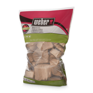 Weber® Firespice Smoking Wood Apple Wood Chunks - 1.8 kg