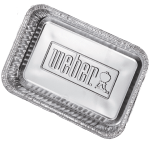 Weber 174 Drip Pan Large Pack Of 10 Heat Amp Grill