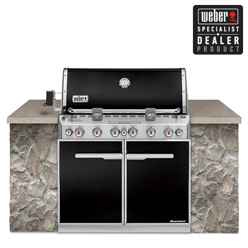 Weber® Summit® (E660) Natural Gas - Black
