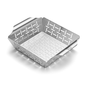 Weber® Small Stainless Steel Veggie Basket