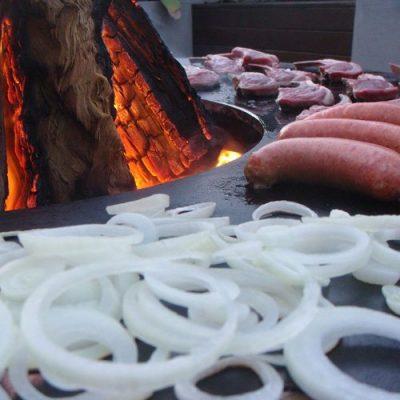 Fireart Australia Teppanyaki Firepit - 900mm