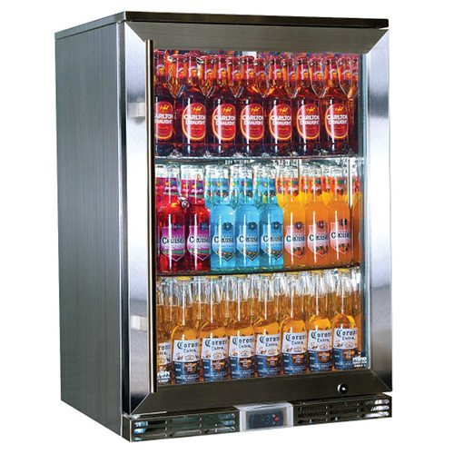 Rhino Gsp Stainless Steel Alfresco Glass Door Bar Fridge With Ip34