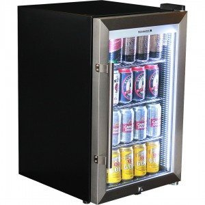 Schmick - Tropical Triple Glazed Outdoor Glass Door Bar Fridge – 70L – 700mmH – Right Hinged