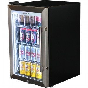 Schmick - Tropical Triple Glazed Outdoor Glass Door Bar Fridge – 70L – 700mmH – Left Hinged