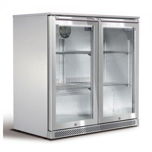 Husky – Alfresco Bar Fridge – Double Door 190L