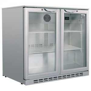 Husky – Classic Bar Fridge – Double Door 190L