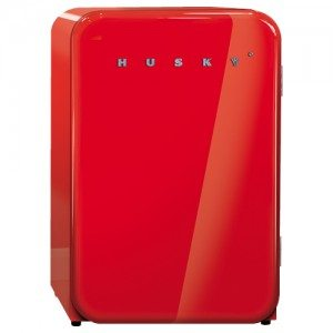 Husky – Retro Bar Fridge – Red 110L