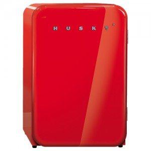 Husky – Retro Bar Fridge – Red 110L