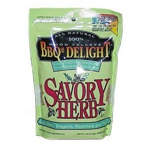 Berg BBQr's Delight Smoking Pellets - 450G Snap Seal Bag - Savoury Herb Flavoured