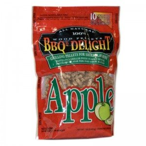 Berg BBQr's Delight Smoking Pellets - 450G Snap Seal Bag - Apple Flavoured