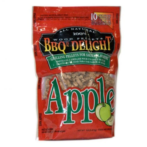 Berg BBQ Delight Smoking Pellets - 450G Snap Seal Bag - Apple Flavoured