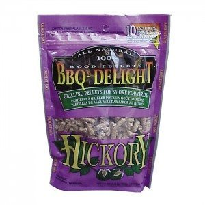 Berg BBQr's Delight Smoking Pellets - 450G Snap Seal Bag - Hickory Flavoured