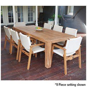 Parker Boyd - Bairo & Corfu Dining 7 Piece Dining Setting