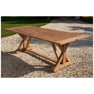 Parker Boyd - Corona Teak Dining Table - 240cm x 100cm