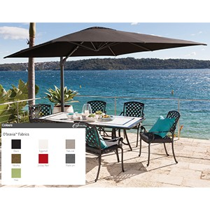 Shelta Regis 3m Square Cantilever Umbrella
