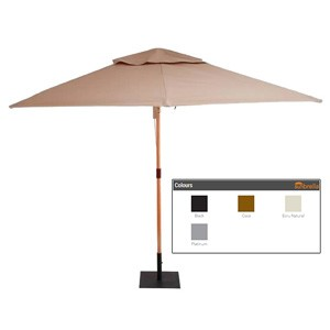 Shelta - Verona 400 Octagonal Umbrella – Terrazzo Delux Collection