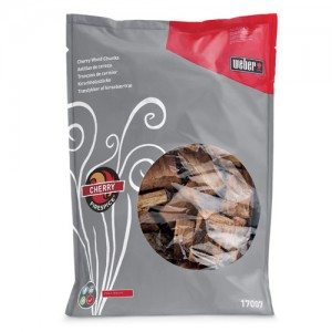 Weber® Firespice Smoking Wood  Cherry Chunks - 2.27 kg