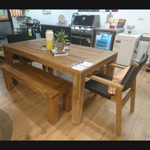 Parker Boyd – Bairo & Corfu 5 Piece Bench Setting 180cm Table