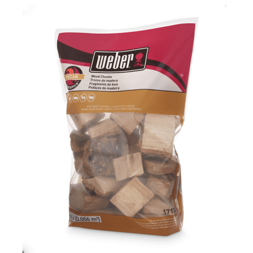 Weber Firespice Smoking Wood Chunks - Pecan - 1.8 kg