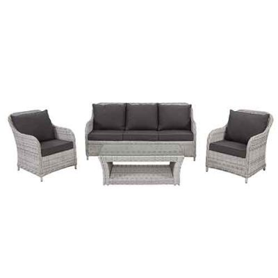 Delaware 4pc Delux Sofa Setting ROUND WICKER / ALUMINIUM Delaware – Shelta's ongoingly popular Delaware range. Delaware 4pc Sofa Setting Components 5mm Round Wicker Single Wicker Sofa (2) W 68cm, D 82cm, H 89cm 3 Seater Wicker Sofa W 188cm, D 82cm, H 89cm Coffee Table With full weave top / glass overlay Rectangular 117 x 60cm H 43.5cm Delaware 4pc sofa Swatches & Cushions Kyoto wicker / Earth texture cushions Salt wicker / Charcoal cushions Gunsmoke wicker / Pale Fog cushions Wickers Kyoto Kyoto Salt wickerSalt Gunsmoke Gunsmoke Cushions Earth Texture Earth Texture Charcoal Pale Fog Pale Fog