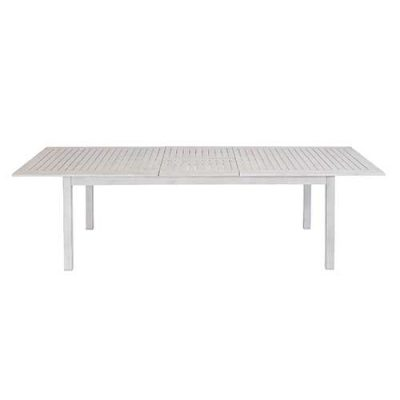 lawrence extended aluminium table