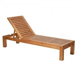 Parker Boyd - Bairo Sunlounge - With Cellfoam Cushion