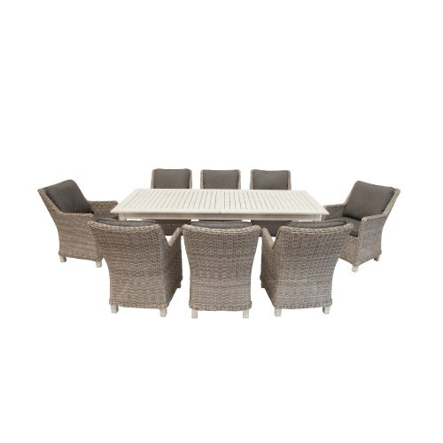 Shelta - Aberdeen / Lawrence 9 or 11 Piece Dining Setting with Extension Table