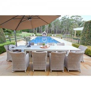 Shelta - Delaware / Lawrence 11 Piece Dining Setting with Extension Table