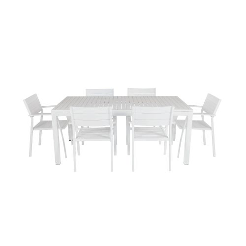Shelta - Orbost / River 7 Piece Dining Setting