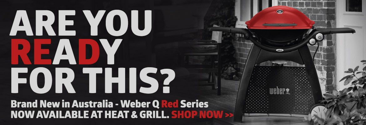 Weber Q Red Series