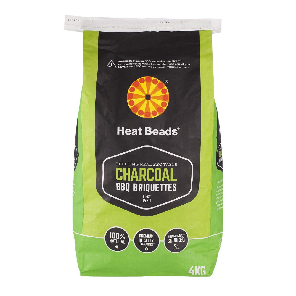 Heat Beads® Natural Charcoal BBQ Briquettes 4kg