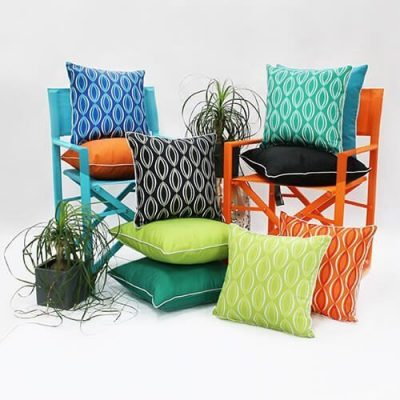 Outdoor Furniturshing Accessories- Backyard Cushions