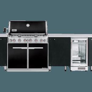 Byron SustainaPod® Outdoor Kitchen for Weber Q3600 & Summit E460 - E660 Series