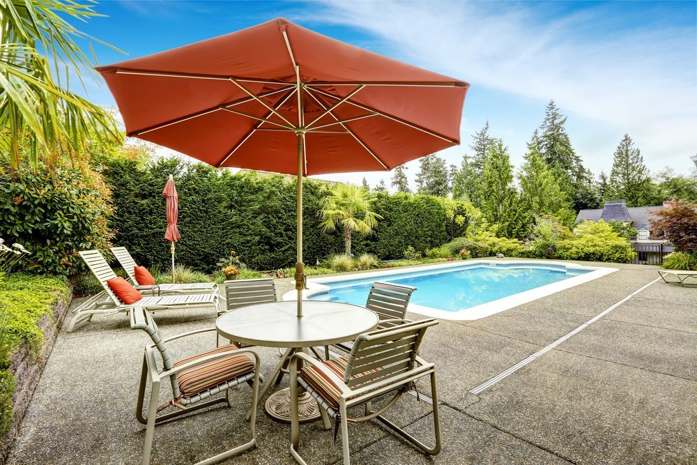 Patio Umbrellas : How to Choose the right features