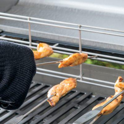Weber® Elevations Tiered Grill Rack & Skewer Set