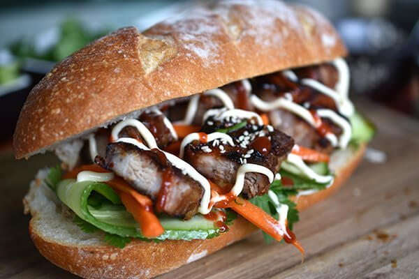 Chilli, Szechuan Pork Banh Mi