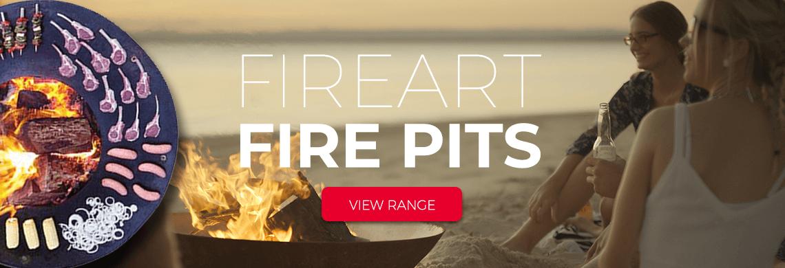 fireart firepit Heat & Grill