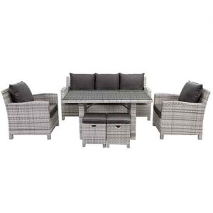 Shelta - Norfolk 6 Piece Casual Dining Setting Setting