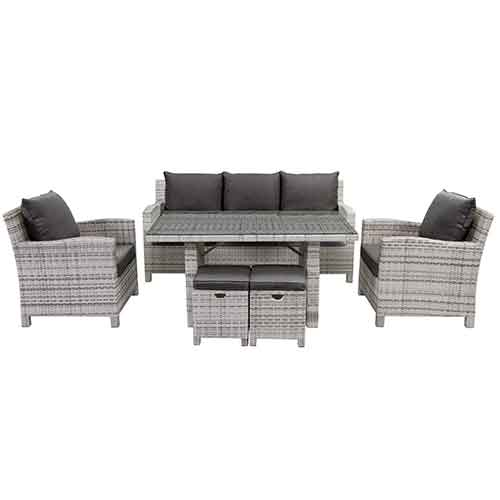 Norfolk 6pc Casual Dining Setting