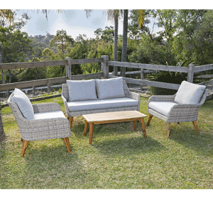 Shelta - Victory 4 Piece Casual Lounge Setting