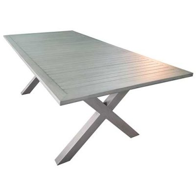 Shelta - Armada Aluminium Slat Dining Table