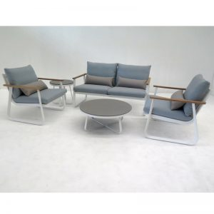 Shelta - Blanca 4 Piece Casual Setting