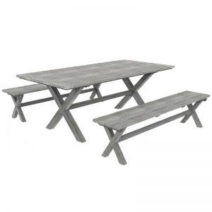 Shelta - Casia 3 Piece Bench Setting