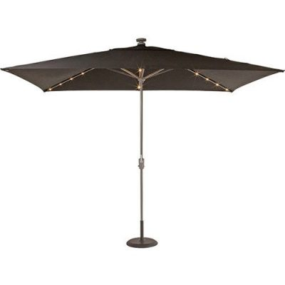 shelta lumina led centrepost umbrella