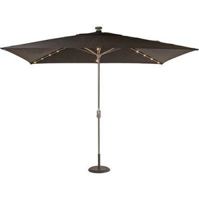 shelta lumina led centrepost umbrella