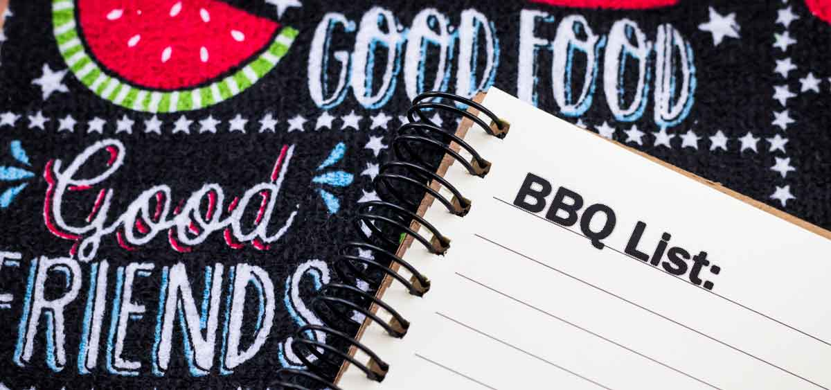 The Ultimate BBQ Checklist