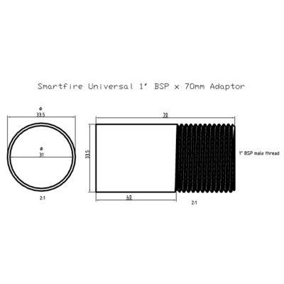 Universal Smartfire adapter schematic