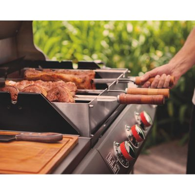 Tramontina Churrasco Stainless Steel Gas BBQ Support for Skewers