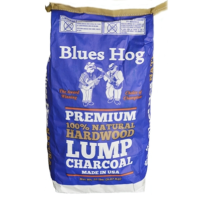 BHCHAR Blues Hog – Premium Natural Lump Charcoal 9KG (20LB)